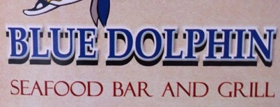 Blue Dolphin Seafood Bar & Grill is one of Mine.
