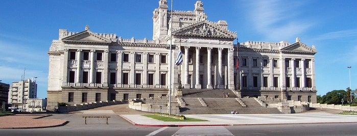 Palacio Legislativo is one of Montevideo City Badge - Mateína.