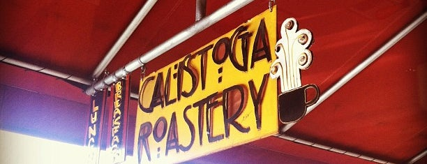 Calistoga Roastery is one of Napa Valley Coffee Joints.