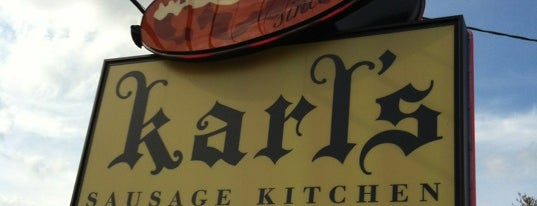 Karl's Sausage Kitchen is one of 40 Days Left in Boston.