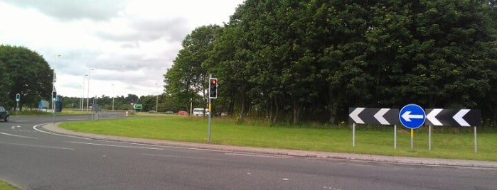 Inveralmond Roundabout is one of Named Roundabouts in Central Scotland.