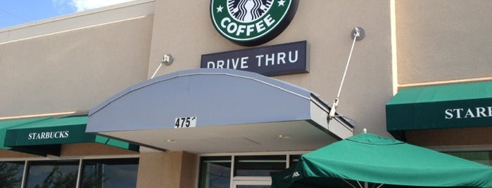 Starbucks is one of Recycle Hotspots.