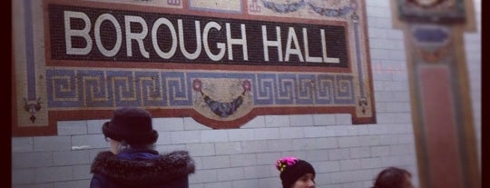 "MTA Subway - Borough Hall/Court St (R/2/3/4/5) is one of ""Be Robin Hood #121212 Concert"" @ New York!."