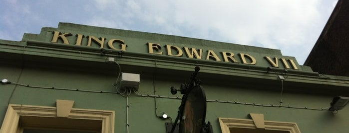 The King Edward VII is one of Olympic eats: Olympic Stadium.