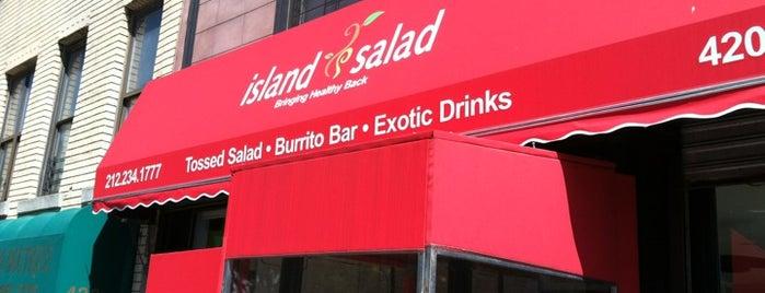 Island Salad is one of Food spots.