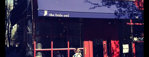 The Little Owl is one of NYC Burgers.