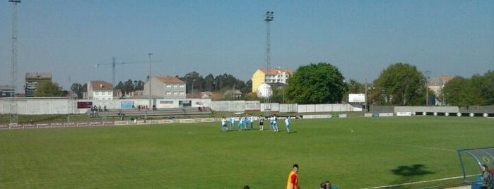 Estadio Municipal de A Baiuca is one of Campos de fútbol.