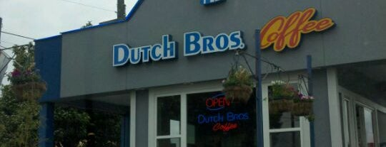 Dutch Bros. Coffee is one of PDX Faves and To Do.