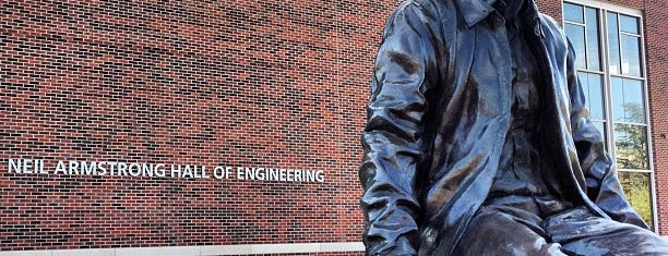 Neil Armstrong Hall Of Engineering (ARMS) is one of Purdue Graduate Bucket List.
