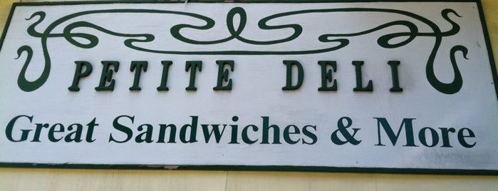 Petite Deli is one of North Beach Local Eats.