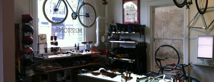 Mission Bicycle Company is one of My San Francisco.