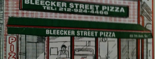 Bleecker Street Pizza is one of favs.