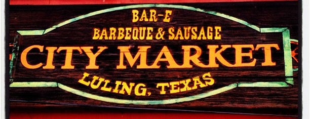 City Market is one of The BEST of Texas BBQ!.