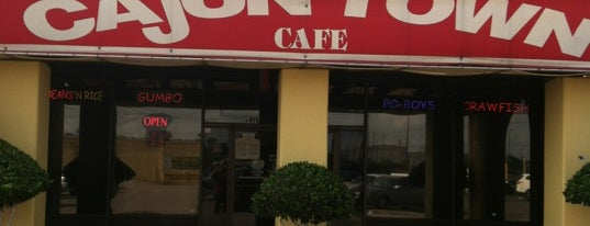 Cajun Town Café is one of Houston Press - 'We Love Food' - 2012.