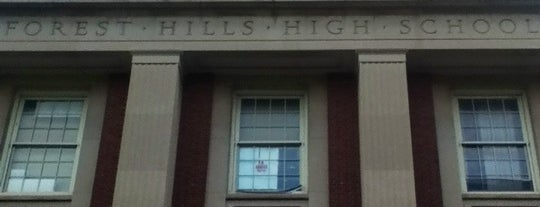 Forest Hills High School is one of NYC Hurricane Evacuation Centers.