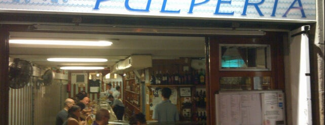 Bar Celta Pulpería is one of #MWC13 - Catavino: Food, Beer, Wine List.