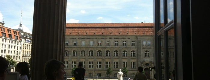 Berlin-Brandenburg Academy of Sciences and Humanities is one of Berlin - insider travel tips.
