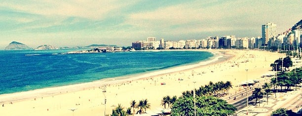 Copacabana Beach is one of Rio.