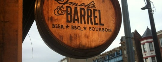 Smoke & Barrel is one of Alcohol: Cocktails, Whisky, Beer.