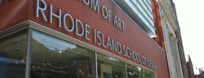 The RISD Museum of Art is one of Inspired locations of learning.