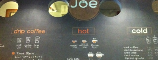 Joe is one of NY Espresso.