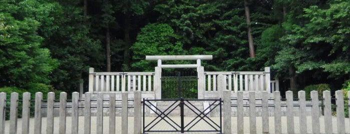 孝元天皇 剣池嶋上陵 is one of 天皇陵.