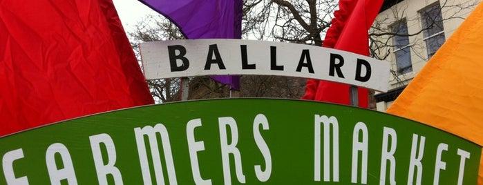 Ballard Farmer's Market is one of Seattle.