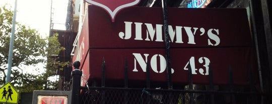 Jimmy's No. 43 is one of NYC.