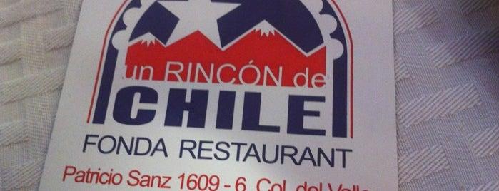 Un Rincon de Chile is one of Los imperdibles.