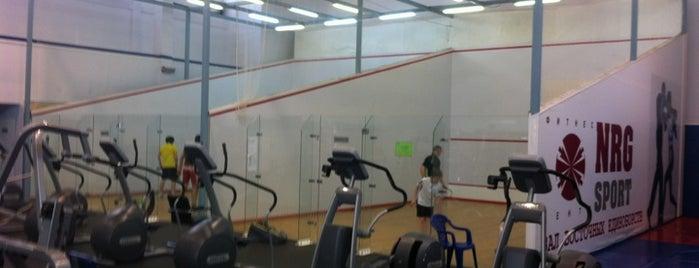 Фитнес-центр NRG Sport is one of Где найти БЖ в Екатеринбурге.