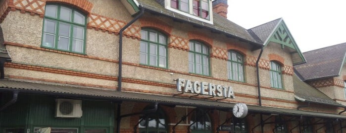 Fagersta Centralstation is one of Tågstationer - Sverige.