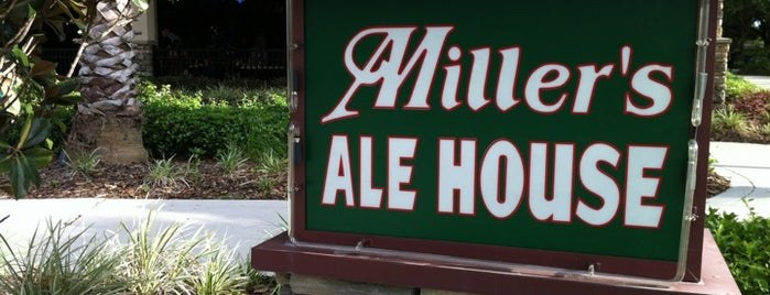 Miller's Ale House is one of Bars.