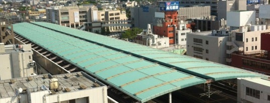 Koshigaya Station (TS21) is one of 東武伊勢崎線.