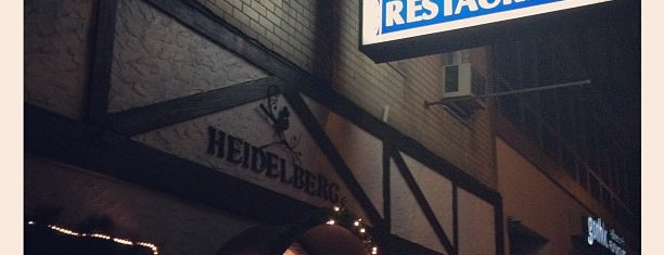 Heidelberg Restaurant is one of 20 favorite restaurants.