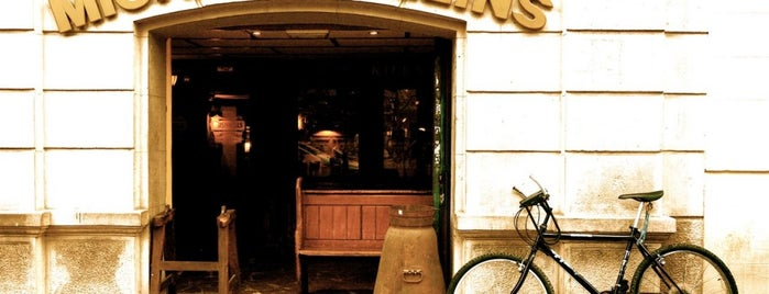 The Michael Collins Irish Pub is one of Round the world trip without leaving BCN / EUROPE.
