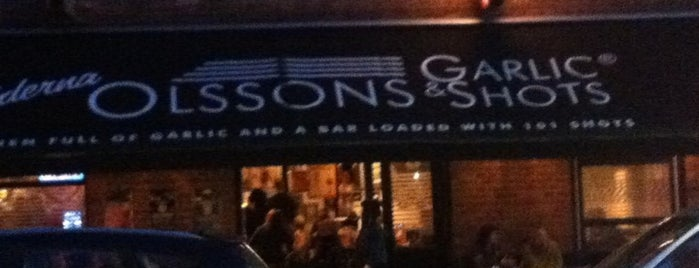 Bröderna Olssons Garlic & Shots is one of Stockholm - to see.