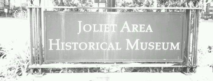 Joliet Area Historical Museum is one of Downtown Joliet.