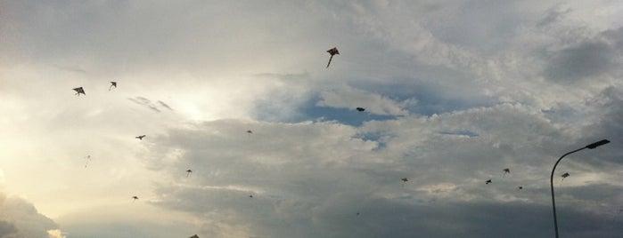 Taman Layang-Layang (Kite Flying) Kepong is one of Cool KL.
