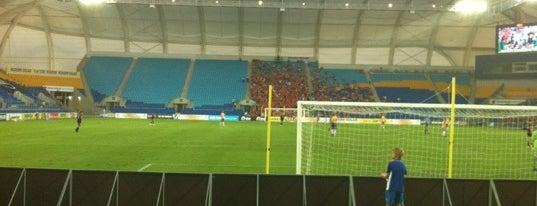 Cbus Super Stadium is one of Soccer.