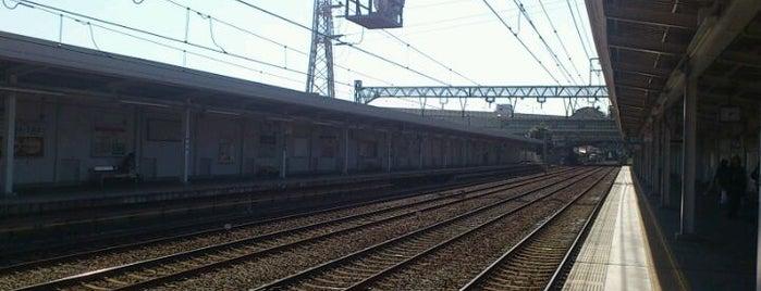 Minamiōta Station (KK41) is one of 京急本線(Keikyū Main Line).