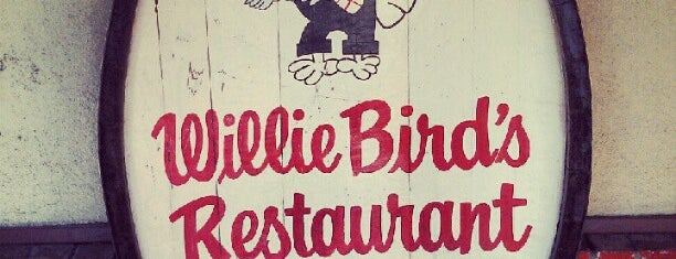 "Willie Bird's Restaurant is one of ""Diners, Drive-Ins & Dives"" (Part 1, AL - KS)."