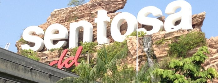 Sentosa Island is one of Places in the Lion City.