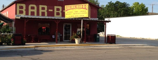 Luling Bar-B-Q is one of The BEST of Texas BBQ!.