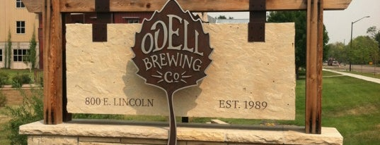 Odell Brewing Company is one of Breweries.