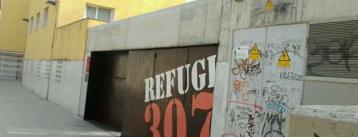 Refugi 307 is one of Museus i monuments de Barcelona (gratis, o quasi).