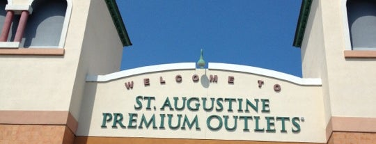 St. Augustine Premium Outlets is one of St. Augustine Tourist Spots to See.