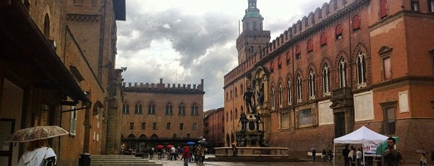 Piazza Maggiore is one of Bologna City Badge - Bolognese.