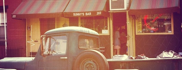 Sunny's is one of 50 Best Dive Bars in NYC.