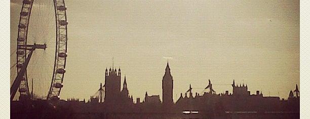 Waterloo Bridge is one of St Martins Lane - Sunset Cycle.