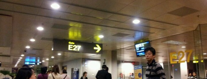 Gate E27 is one of SIN Airport Gates.